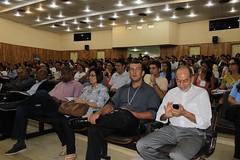 Inácio Arruda no Simpósio de Alto Rendimento Esportivo e Medicina do Esportivo da UECE