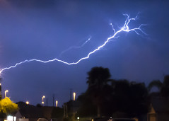 Lightening (NoobieNikon) Tags: arizona night 35mm photography nikon long exposure az rake gilbert lightening f18 d7100