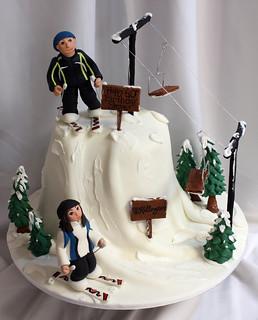 Ski Cake med
