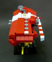 "Sobani Battleship ""Limos"" (Rphilo004) Tags: ship lego space micro scifi spaceship fi homeworld sci spacecraft moc microspace microscale"