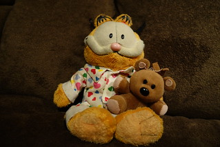 Garfield Plush Toy from long ago 6-14