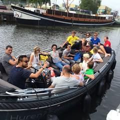 Vollebak vanuit Eemhaven in Amersfoort. Met Eemsloep.nl sloep verhuur.