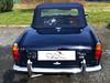 01 Triumph TR4A mit Verdeck von CK-Cabrio EINE Scheibe OHNE Reißverschluss bb 01