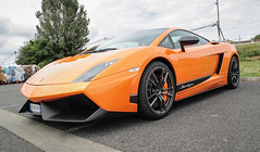 Superleggera (xwattez) Tags: auto france car italian automobile market parking voiture transports simply lamborghini supercar gallardo 2014 superleggera italienne vhicule rassemblement launaguet