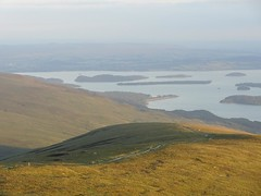 Ben Lomond: Bikers Descending