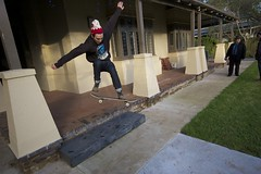 mad shuv-it - 2 stair, Wardle residence (jizzim) Tags: ultrawide unclesam tonyhawk iwantyou shuvit hugegap 2stair