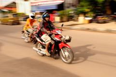 ,, Panning ,, (Jon in Thailand) Tags: nikon asia streetphotography motorcycle nikkor laos panning d300 175528