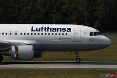 D-AIUE - Airbus A320-214/SL [6092] - Lufthansa (Leezpics) Tags: airbus lufthansa fra frankfurtammain airliners a320 eddf commercialaircraft sharklets 25may2014 daiue