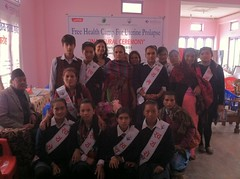 Closing Ceremony (The Advocacy Project) Tags: nepal camp people nature rural project justice women asia peace social womens medical health human rights medicine care fellowship fellows prolapse advocacy uterine