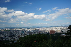 Seoul (Andrew and Annemarie) Tags: asia day cityscape cloudy korea backpacking seoul southkorea ntower file:md5sum=a64fdad7bf17016c58bddc60c3ccbdb0 file:sha1sig=6e7fa715d4521f47645879363c239b88a38f0ffe