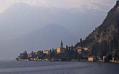 Rita Crane Photography: View of Varenna & Italian Alps, Lake Como (Rita Crane Photography) Tags: italy mountains alps village lakecomo italianalps fishingvillage varenna lagodicomo stockphotography italianlakedistrict ritacranephotography wwwritacranestudiocom