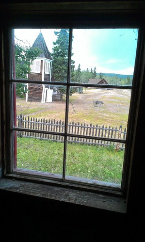 Fort Selkirk window