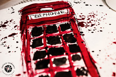 226. LDN (Sophie Louise Cowdrey) Tags: uk red london art call box telephone calling redtelephonebox project365