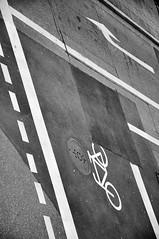 DSC_3331 [ps] - Puncture (Anyhoo) Tags: road street urban white bike bicycle tarmac germany deutschland missing paint control hole symbol roadworks painted repair cycle marker bikelane patch asphalt freiburg baden markings lanes indicator roadmarkings cyclelane badenwrttemberg linepainting freiburgimbreisgau anyhoo photobyanyhoo