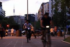 Avda. Carles III (Hibakusha73) Tags: barcelona bike bicycle cat spain bcn bicicleta catalonia bici catalunya bicicletas catalua hibakusha bicicletes bicing josbelmonte hibakusa73