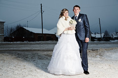 Ural Mari (Fyodor Telkov) Tags: wedding portrait people holiday art history fashion modern project photo essay pattern village russia embroidery traditional religion documentary lovers steam suit story mari journalism pagan ethnography ural nationality fyodor telkov