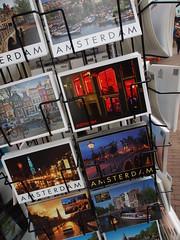 Souvenir cards, Amsterdam