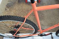 (ericmonasterio) Tags: monasterio racerracks bikecultshow 2014 em eric dave perry harry shwartzman ben peck nycframebuilders nyc knockdown center usa custom bicycles