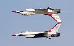 EAA Oshkosh 2014 USAF Thunderbirds (Divagirl86) Tags: aviation airshow planes f22 thunderbirds f18 usaf vapor osprey eaa oshkosh v22 fighterjet afterburners eaaoshkosh avporn