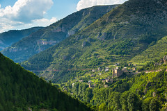 Prades (Ornaim) Tags: summer france green castle landscape nikon view gorges tamron tarn prades lozere