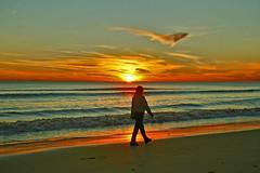 Sunsets in Vilamoura (Zéza Lemos) Tags: sunset praia mar céu puestasdesol vilamoura àgua núvens pordesol