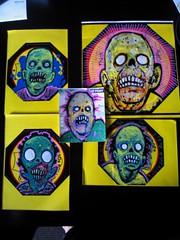 (andres musta) Tags: andres musta zas zombie art squad zombieartsquad stickerart stickers sticker adhesive andresmusta slaps