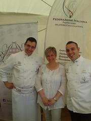 Mario Ragona con Kristina Rado e Roberto Lestani
