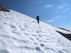 Yet another snowfield!