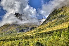 Stretindane (Askjell's Photo) Tags: mountains norway clouds canon photo flickr image picture glacier rsta newmindspace throughtheviewfinder standalseidet askjell