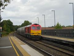 60001 (Boothby97) Tags: br diesel brush dbs tamworth diesellocomotive class60 60001 brushtraction dbschenker cementtanks 6z65 tamworthhighlevel tamworthrailwaystation dbsred