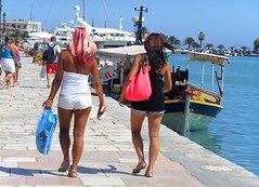 Strollers (RobW_) Tags: august greece monday zakynthos strollers 2014 aug2014 25aug2014