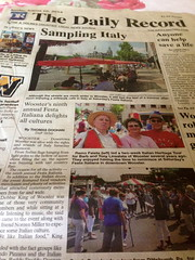 We made the front page!