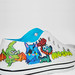 Moshi Monster Hand painted shoes