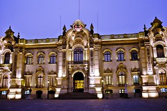 Peru's Presidential Palace in Lima (NgoPhotographyPlz) Tags: plaza house peru lima armas palace presidential government