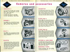 camera vintage photography ad 1954 photographic advertisement advert almanac thebritishjournal