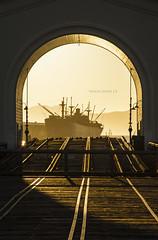 S.S. Jeremiah O'Brien (Shaun Jones LA) Tags: sanfrancisco california light sunset sun golden ships sunsets shipyard jeremiahobrien ssjeremiahobrien