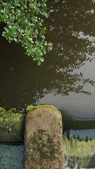 Blick von einer Brücke