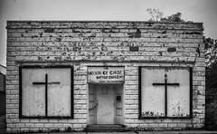 The Mission Of Christ Baptist Church Rev. Edward Turner (will139) Tags: abandoned churches baptist decayed baptistchurches themissionofchristbaptistchurch revedwardturner