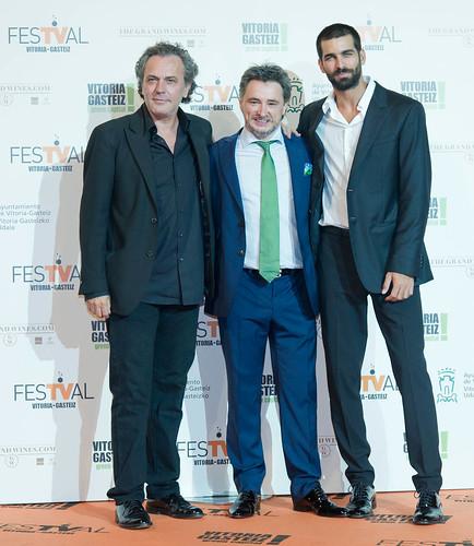 José Coronado y Rubén Cortada en el FesTVal 2014
