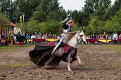 Knights in Archeon (hans s) Tags: medieval knight archeon joust 2014