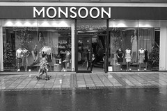 P1070583-1-2 Won you... (Lawrence Holmes.) Tags: street uk blackandwhite mono leeds streetphotography monsoon juxtaposition