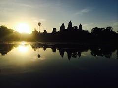 Sunrise at Angkor Wat - 097