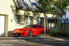 Ferrari 599 GTO (aguswiss1) Tags: racecar ferrari parked gto supercar sportscar 599 300kmh 200mph hypercar worldcars ferrari599gtorareschweizswissswitzerland