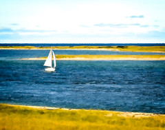 Sailing Chatham (CapeCawder) Tags: sailboat photoart lightroom topazbuzsim akvisartwork nikond5300 ononeperfecteffects8