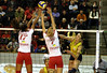 4704_RVaradi (Robi33) Tags: game girl sport ball switzerland championship team women action basel tournament match network volleyball block volley referees viewers