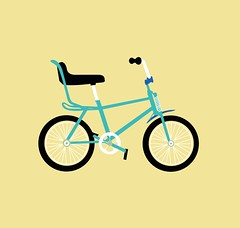 Photo is only a hobby, this is what  I really do :) (Carlos Elosua) Tags: classic bike illustration design graphicdesign vectorart cross bici fixie illustrator diseo vector bh ilustracin flatdesign