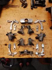 A Day's Work (Capricorn Bicycles) Tags: building bike bicycle hand handmade steel tools workshop frame custom filing lug framebuilding lugs lugged
