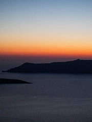 Early Evening -  Fira (davepickettphotographer) Tags: travel sunset summer sun tourism island photography islands evening sundown olympus santorini greece caldera end cycladic thera 2014 em1 olympuscamera strongl
