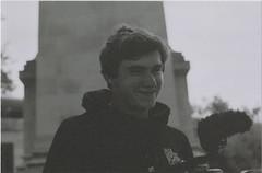Liam 3 (Casey Mark Brown) Tags: blackandwhite bw london film 35mm skateboarding pentax kodak grain skate portsmouth vans cheesey supreme petersfield nikesb sp500