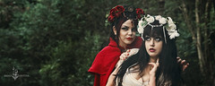"""Happily ever after"" (Azadeh Brown) Tags: fairytale forest gothic goth medieval littleredridinghood fantasy gothgirl fairies azadeh darkart darkforest newromantic gothbride gothwedding snowwhiteandrosered darkfairytale breadandshutter azadehbrown deadlyd0ll laylagordon"